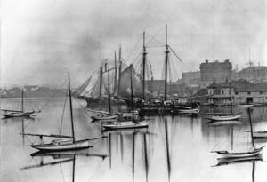 picture of Victoria Harbour circa 1900